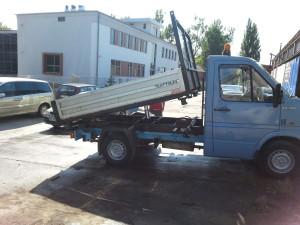 Mała wywrotka Volkwagen LT 35